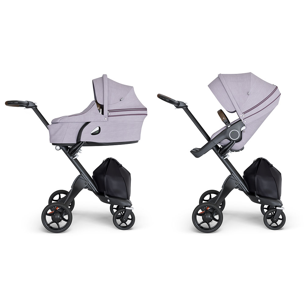 Коляска 2 в 1 Stokke Xplory V6 Black/Brown