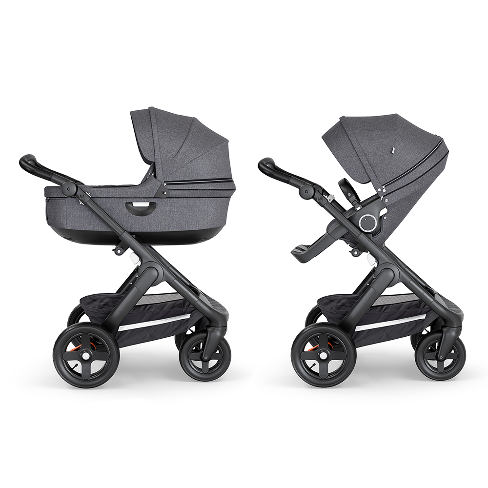 Коляска 2 в 1 Stokke Trailz Black